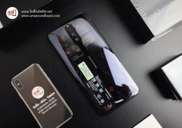 Nubia RedMagic 5G Transparent Edition 12/256 ฝาหลังโปร่งใส ใหม่มือ1 เพียง 24,900 บาท