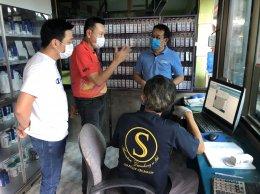 คณะผู้บริหารอู่ เยี่ยมชมการทำงาน อู่ชลบุรี ณ วันที่ 23 ก.ค. 2563