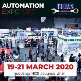 พบกับเราที่งาน Automation Expo 2020