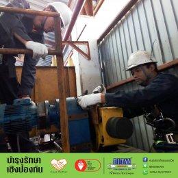 บริการบำรุงรักษารอก และเครนไฟฟ้าเชิงป้องกัน พร้อมเรียกซ่อมได้ตลอดเวลาเมื่อรอก และเครนไฟฟ้าเกิดปัญหา ตลอดสัญญาการให้บริการ