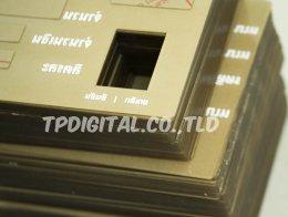 พิมพ์อะคริลิค ( Acrylic Screen Printing ) สกรีน พิมพ์โลโก้ ภาพลงบนแผ่นอะคริลิคใส