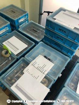 พิมพ์ชิ้นส่วนเครื่องยนต์ พิมพ์ Serial Number ลงบนชิ้นส่วนเครื่องยนต์