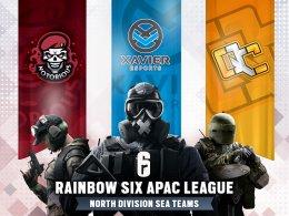 เผยรายชื่อ 3 ทีมที่จะมาร่วมแข่งขันใน North Division ของ Rainbow Six Asia Pacific League ผู้จะมาเป็นตัวแทนภูมิภาคเอเชียตะวันออกเฉียงใต้