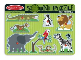Melissa and Doug -  Sound Puzzles - Zoo พัซเซิลมีเสียง สวนสัตว์