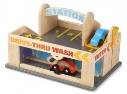 Melissa & Doug - Service Station Set  ชุดของเล่นรถ