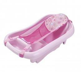 อ่างอาบน้ำเด็กสีชมพู  The First Year - Sure Comfort Deluxe