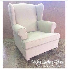 เก้าอี้โยก Wing Rocking Chair