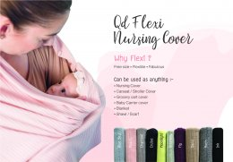 Qd Flexi Nursing Cover : Cotton