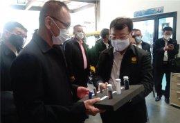 Dr. Pailin Chuchottaworn and Thai NDC officers visit pilot plant (6 Aug 20)