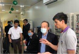 NDC Alumni think tank executive officers visit pilot plant (14 Aug 20)