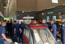 NKRAFA officers visit pilot plant, CEST (VISTEC) (13 Aug 20)