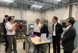 Deputy Prime Minister and Minister of Foreign Affairs of Thailand visited CEST, VISTEC (24 Aug 2020)