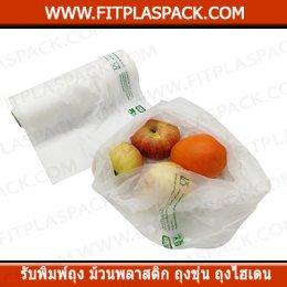 ถุงผัก ถุงแพสซีฟ บรรจุผัก ถุงผลไม้ ( Passive Bag )