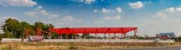 งานโครงสร้างน็อคดาว์น โชว์รูมคูโบต้า(อ.จักราช นครราชสีมา)