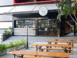 Atmosphere Outside 64 Restaurant