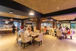 Atmosphere Inside 64 Restaurant