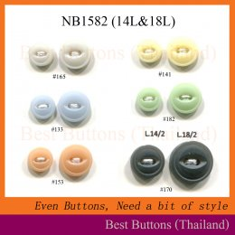 Fish-eye Buttons