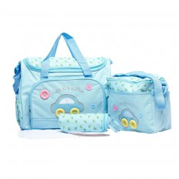 Mothercare กระเป๋าสัมภาระคุณแม่ เชต 3 ใบ สีฟ้า