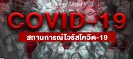 สถานการณ์ในประเทศไทย โควิด 19 โรคติดเชื้อไวรัสโคโรนา 2019 (COVID-19)