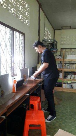 โครงการสร้างโรงเรียนสวยให้น้อง ที่โรงเรียนบ้านต้นเกด จังหวัดเพชรบุรี