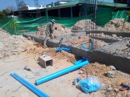 โครงการก่อสร้างอาคารแพทย์แผนไทย รพ.บ้านลาด จ.เพชรบุรี