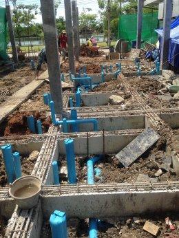 โครงการ ก่อสร้าง บ้านพัก ข้าราชการ จ.ปทุมธานี