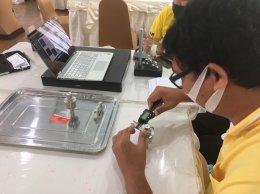 การสอนการใช้งานเครื่องมือวัดทางมาตรวิทยา รุ่นที่2