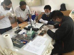 การสอนการใช้งานเครื่องมือวัดทางมาตรวิทยา รุ่นที่1