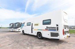 บริการให้เช่ารถ Motorhome พร้อมพนักงานขับรถและพนักงานทำความสะอาด