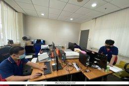ทีม Data Staff เข้าปฏิบัติงานสแกนเอกสารแบบแปลน ขนาดA4-A0 สำนักงาน ไทยเซกิชุย โฟม