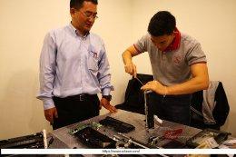 ตัวแทนฝ่ายเทคนิคของบริษัทฯ ได้รับเกียรติจากบริษัท N2N ให้เดินทางไปที่กรุงไทเป ประเทศไต้หวัน เพื่อเข้ารับการอบรมด้านเทคนิคของเครื่องสแกนเนอร์ Avision ณ สำนักงานของ บริษัท InfoAcer