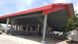 Bright Color Metal Sheet Installation with PEB-Steel Structure