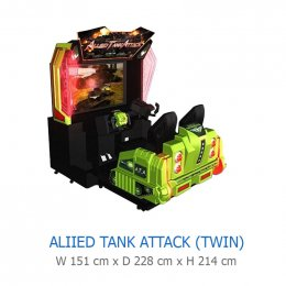 ALIIED TANK ATTACK (TWIN)