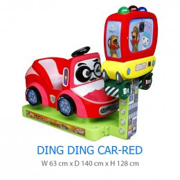 Ding Ding Car-Red