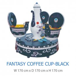 Fantasy Coffee Cup-Black