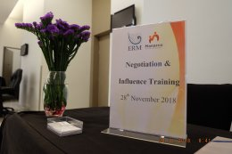 """NEGOTIATION & INFLUENCE"" Training Course for ERM-SIAM Co., Ltd."