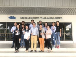 """UPLIFTING CUSTOMERS"" Training Course for NS Bluescope (Thailand) Limited"