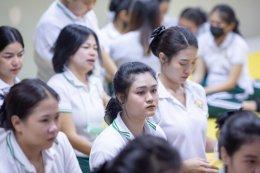จัดกิจกรรม อบรม คุณธรรมจริยธรรม นักเรียนรุ่น ที่ 37