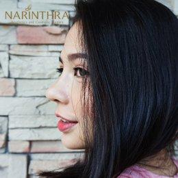 รีวิวงานแก้จมูกที่ Narinthra clinic  ด้วยเทคนิคการปรับโครงสร้าง Nose Ranovation