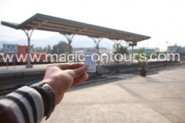 เที่ยวไต้หวันอิสระด้วยตัวเอง ไต้หวันออนทัวร์ ตอน 4 @ สถานีรถไฟจี๋จี๋ สถานีรถไฟไม้โบราณคลาสิคสุดๆ