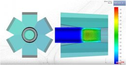 Radial forging and Rotary swaging simulation in QForm VX