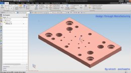 Create Drilling Operation for 3D part by Hole Making
