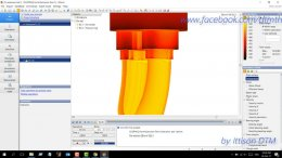 How to extrusion simulation by QFORM VX8.2.1