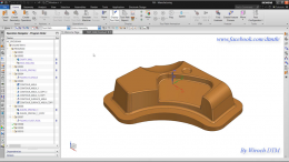 NX CAM 1899 Adaptive Milling with chamfer tools