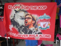 ผลิตธง ธง Liverpool, Jürgen Klopp