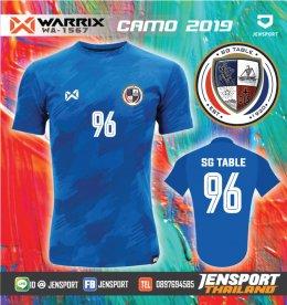เสื้อบอลทีม SG-TABLE warrix wa1567 wa1568