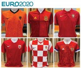 เสื้อบอล euro 2021