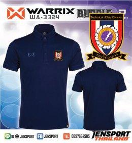เสื้อฟุตบอล Warrix รุ่น WA-3324 สีกรมท่า ทีม ทหารกองวิทยาการ