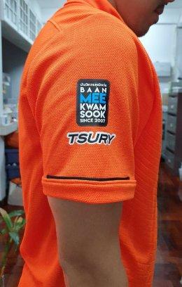 เสื้อรุ่น เทพศิรินทร์ 117 ใช้เสื้อ Warrix WA-3318 สีส้มครับ