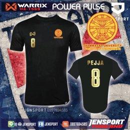 เสื้อ Warrix WA-1569 สีดำ ทีม วิศวะ ธรรมศาสตร์